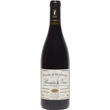 BEAUMES DE VENISE Rouge 75cl DOMAINE DE BEAUMALRIC 0,75 L