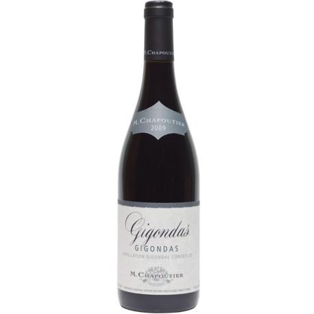 GIGONDAS Rouge 75cl Chapoutier 0,75 L