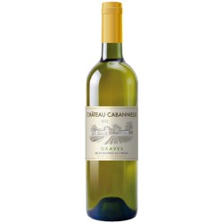 Graves AOP Château Cabannieux blanc 75cl