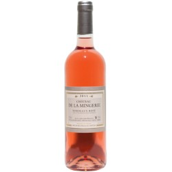 CHATEAU MINGERIE Rosé 75cl BORDEAUX AOP 0,75 L