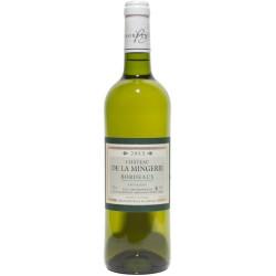 CHATEAU MINGERIE Sauvignon Blc75cl BORDEAUX AOP 0,75 L