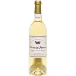 CHATEAU LES ARROUCATS Blanc 75cl SAINTE-CROIX-DU-MONT AOP 0,75 L