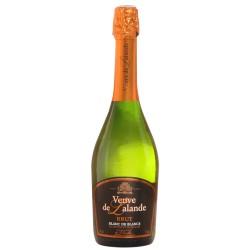 Vin Mousseux de Qualité VMQ Veuve de Lalande Blanc de Blancs 75